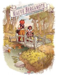 Mauve Bergamote T1 : Bienvenue à l'herboristerie (0), bd chez Delcourt de Grimaldi, Cécile, Poupelin