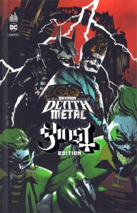 Batman Death Metal T2 : Couverture Ghost -  Edition limitée (0), comics chez Urban Comics de Snyder, Capullo, FCO Plascencia, Dell'edera