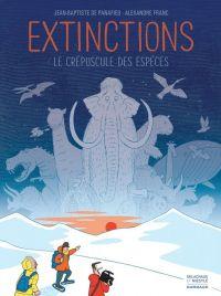 Extinctions, le crépuscule des espèces, bd chez Dargaud de de Panafieu, Franc
