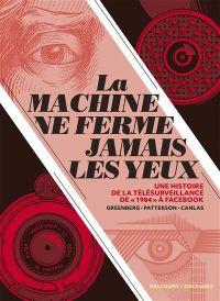 La Machine ne ferme jamais les yeux, bd chez Delcourt de Greenberg, Patterson, Canlas
