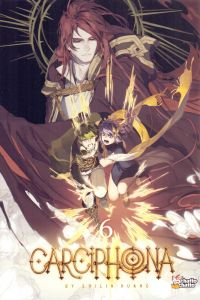 Carciphona T6, manga chez Chatto chatto de Huang