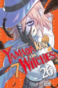 Yamada kun & the 7 witches T26, manga chez Delcourt Tonkam de Yoshikawa