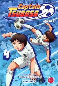 Captain Tsubasa Anime comics T4, manga chez Nobi Nobi! de Takahashi, DAVID Production