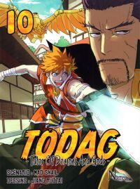 Todag - Tales of demon and gods T10, manga chez Nazca de Mad snail, Ruotai