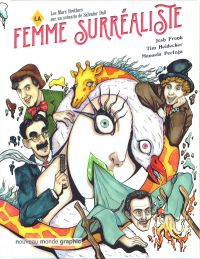 La Femme surréaliste, bd chez Nouveau Monde de Heidecker, Frank, Pertega