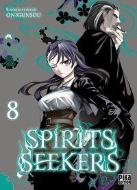Spirit seekers T8, manga chez Pika de Onigunsô