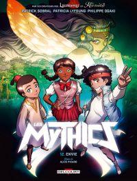 Mythics T12 : Envie (0), bd chez Delcourt de Ogaki, Guérin, Lyfoung, Picard, Paillat