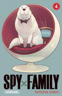 Spy X family T4, manga chez Kurokawa de Endo