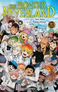 The promised neverland T20, manga chez Kazé manga de Shirai, Demizu