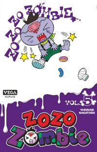 Zozo zombie T5, manga chez Dupuis de Nagatoshi