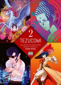 Tezucomi T2, manga chez Delcourt Tonkam de Bablet, Yoshihisa, Tezuka, Mig, Cossu, Bokutengou, Mangin, Ruiz, Buredo, Ishida, NCT