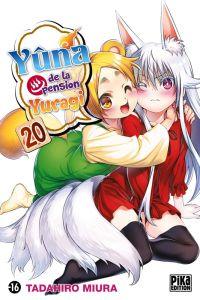 Yûna de la pension Yuragi T20, manga chez Pika de Miura
