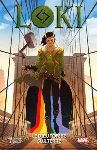Loki : le dieu tombé sur terre , comics chez Panini Comics de Kibblesmith, Macdonald, Bazualda, Curiel, Lopez, Yildirim
