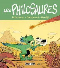 Les Philosaures, bd chez Delcourt de Dubuisson, Donsimoni, BenBK