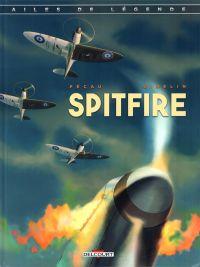 Machine de guerre - Ailes de légende T1 : Spitfire (0), bd chez Delcourt de Gibelin, Pécau