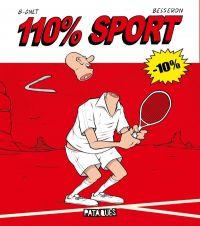 110% sport, bd chez Delcourt de B-gnet, Besseron, Gervier