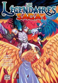 Les légendaires - Saga  T4, manga chez Delcourt Tonkam de Sobral, Lapeyre