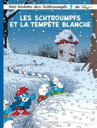 Les Schtroumpfs T39 : Les Schtroumpfs et la tempête blanche (0), bd chez Le Lombard de Jost, Culliford, Maury, Culliford
