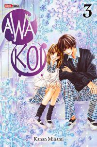 Awa koi T3, manga chez Panini Comics de Kanan