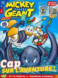 Mickey parade géant T383 : Cap sur l'aventure ! (0), bd chez Disney magazines  de Artibani, Pastrovicchio