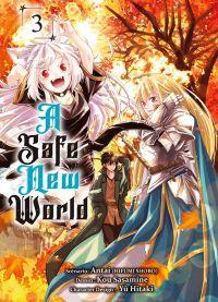 A safe new world T3, manga chez Komikku éditions de Antai, Sasamine
