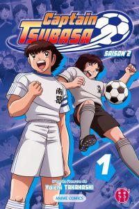 Captain Tsubasa Anime comics T1, manga chez Nobi Nobi! de Takahashi, DAVID Production