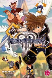 Kingdom hearts III T1, manga chez Nobi Nobi! de Shiro, Nomura