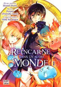 Réincarné dans un autre monde T1, manga chez Delcourt Tonkam de Ponjea