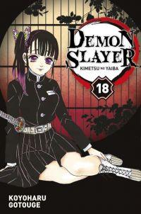 Demon slayer T18, manga chez Panini Comics de Gotouge