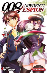 008 Apprenti espion T2, manga chez Kurokawa de Matsuena