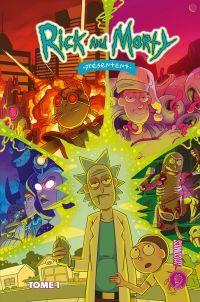 Rick et Morty présentent :  T1 : Histoires de famille (0), comics chez Hi Comics de Dawson, Ortberg, Visaggio, Cannon, Stern, Filardi, Peer