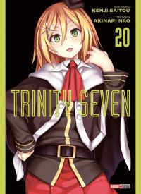 Trinity seven T20, manga chez Panini Comics de Nao, Saitô