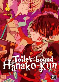 Toilet-bound Hanako-kun T3, manga chez Pika de Aidalro