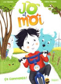 Jo et moi T1 : Ça commence (0), bd chez Paquet de Delvaux, Delvaux