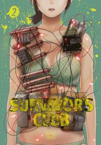 Survivor's club T2, manga chez Delcourt Tonkam de Aoisei, Anajiro