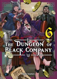 The dungeon of black company T6, manga chez Komikku éditions de Yasumura