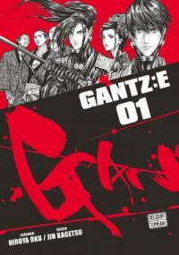 Gantz:E T1, manga chez Delcourt Tonkam de Oku, Kagetsu