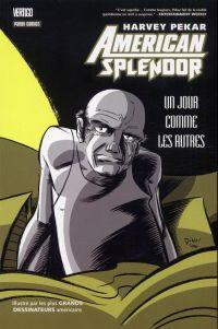 American splendor - Un jour comme les autres, comics chez Panini Comics de Pekar, Templeton, Haspiel, Corben, Fabry, Collectif