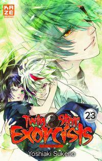 Twin star exorcists T23, manga chez Kazé manga de Sukeno