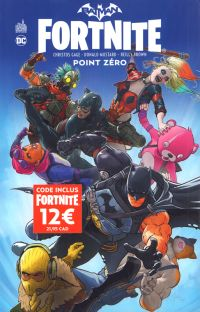 Batman / Fortnite  : Point Zéro (0), comics chez Urban Comics de Mustard, Gage, Brown, Kalisz, Janin