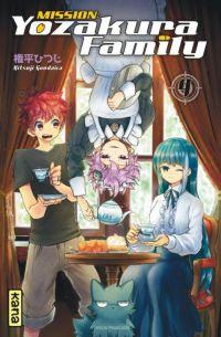 Mission : Yozakura family T4, manga chez Kana de Gondaira