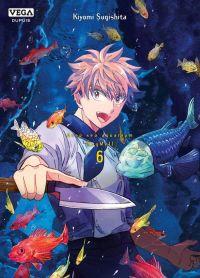 Deep sea aquarium Magmell T6, manga chez Dupuis de Sugishita