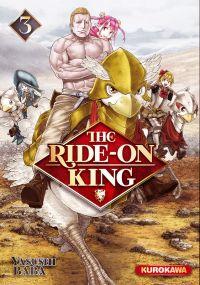 The ride-on king T3, manga chez Kurokawa de Baba