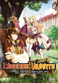 Légende vivante T2, manga chez Delcourt Tonkam de Ezogingitune, Abeno