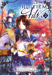 Le huitième fils  T2, manga chez Delcourt Tonkam de Y.A, Kusumoto