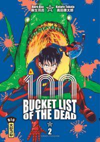 Bucket list of the dead T2, manga chez Kana de Haro