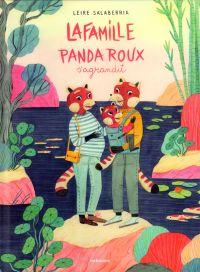 La Famille Panda Roux, bd chez Sarbacane de Salaberria