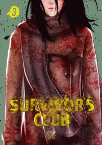 Survivor's club T3, manga chez Delcourt Tonkam de Aoisei, Anajiro