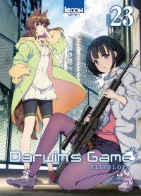 Darwin's game T23, manga chez Ki-oon de FLIPFLOPs