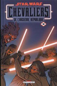 Star Wars (revue) – Chevaliers de l'ancienne république, T3 : Au coeur de la peur (0), comics chez Delcourt de Jackson Miller, Tolibao, Ching, Weaver, Atiyeh